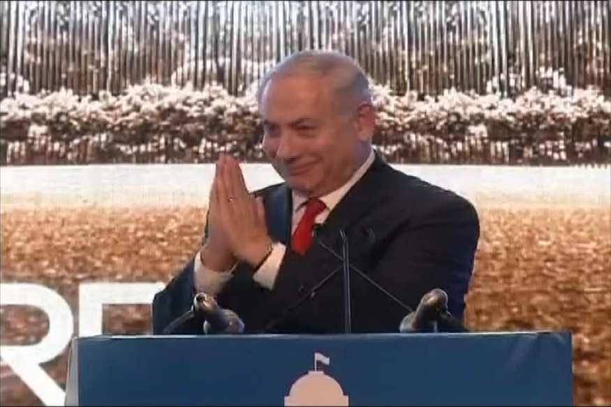 Netanyahu in India LIVE: Israeli PM Lauds Modi, Says Astonished to See India's Rise in Ease of Business Rankings