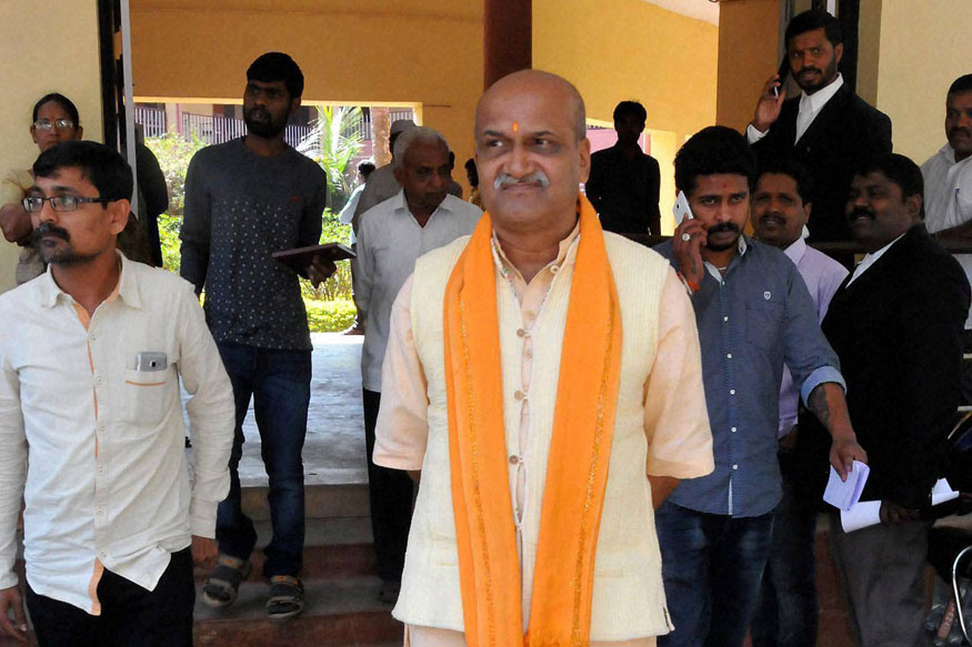 Ram Sene's Pramod Muthalik Claims Threat to Life from RSS Leaders, Fears 'Togadia-Like' Fate