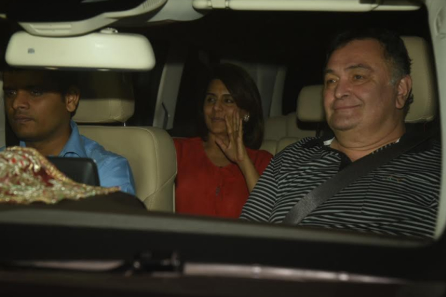 Rishi Kapoor and Neetu Kapoor laud Deepika's performance in 'Padmaavat'