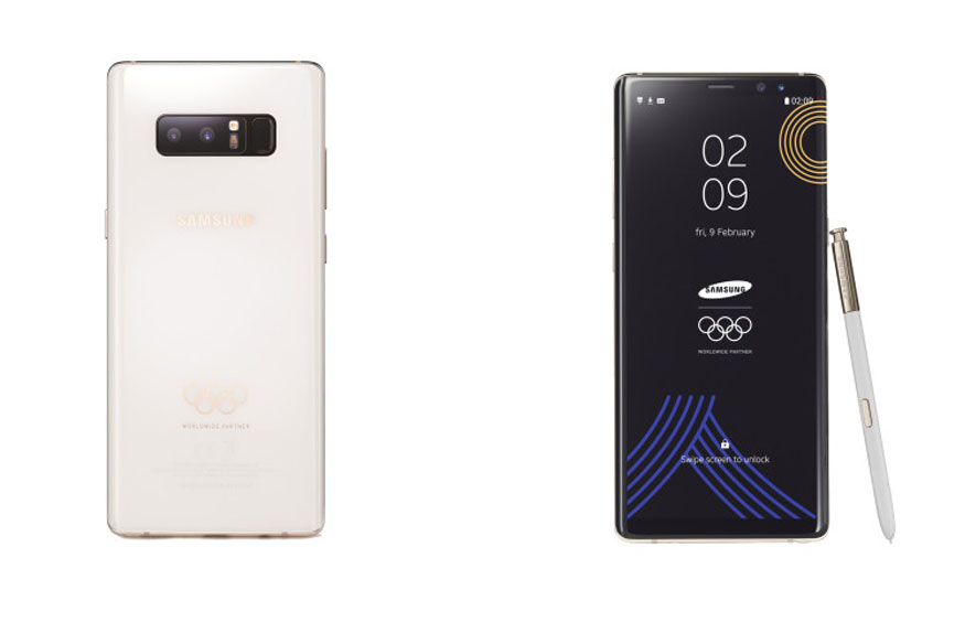 Samsung Galaxy Note 8 Gets New Look For 2018 Winter Olympics