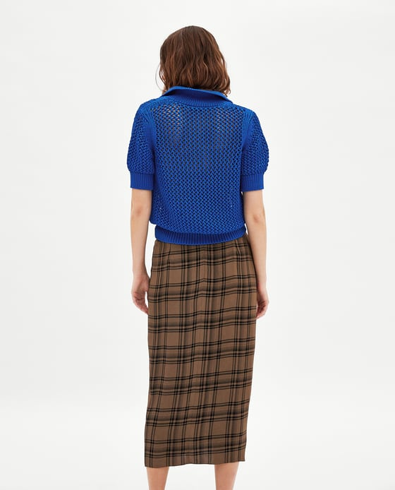 Zara recycles the lungi!