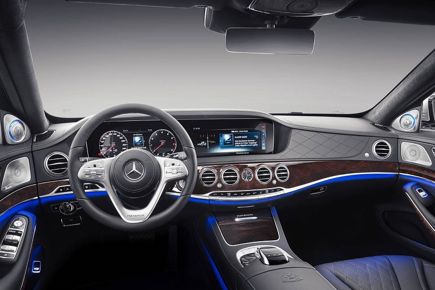 2019 Mercedes Maybach S650 Cabin. (Image: Mercedes-Benz)