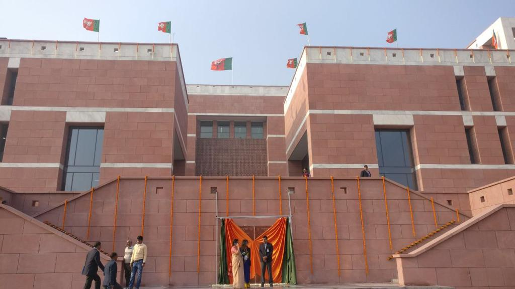 PM Modi inaugurates BJP new headquarters at Delhi's