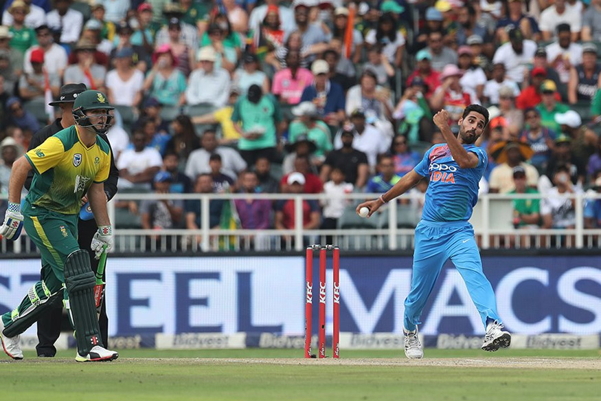 Bhuvneshwar, Dhawan Star as India Register Comprehensive Victory Over South Africa in 1st