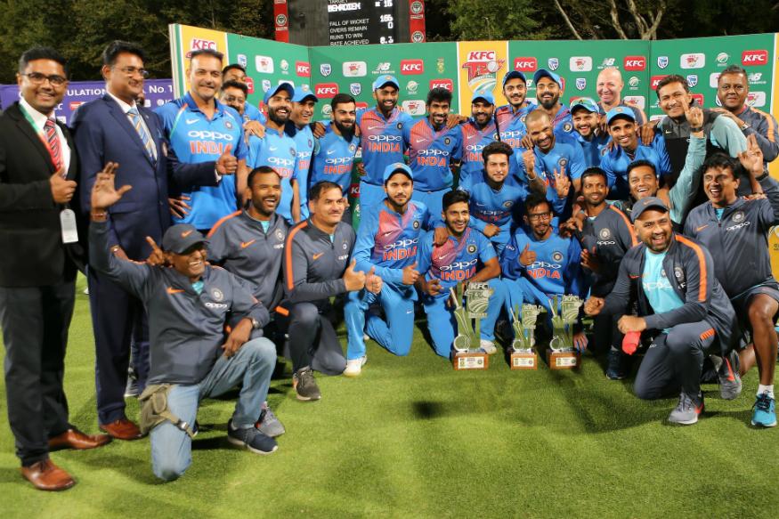 Suresh Raina and Bhuvneshwar Help India Seal Series