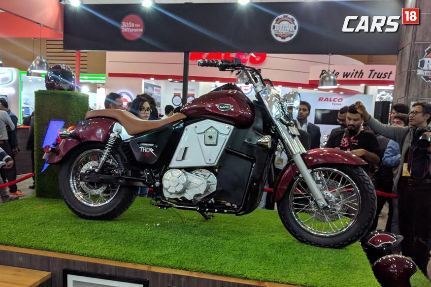 UM Renegade Thor showcased at Auto Expo 2018. (Image: Manav Sinha/News18.com)