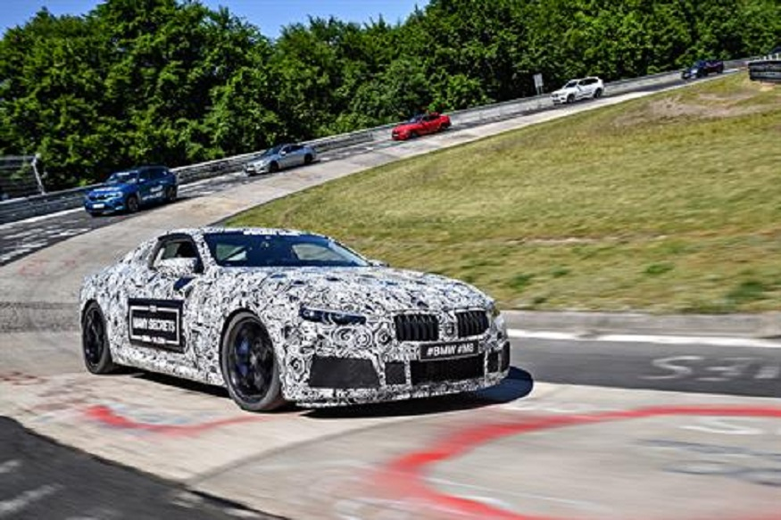 BMW M8 Concept. (Image: AFP Relaxnews)