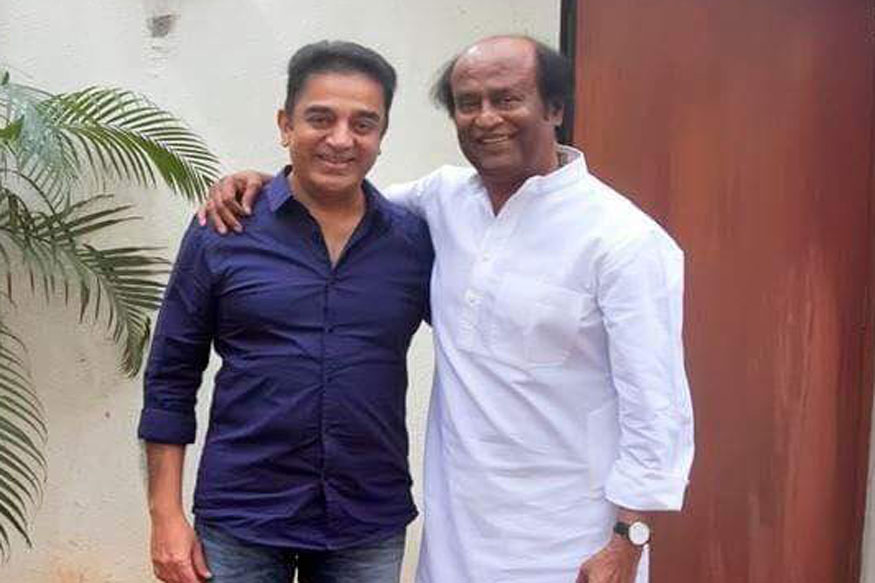 Star Alliance in the Works? Kamal Haasan Calls on Rajinikanth Ahead of Political Debut