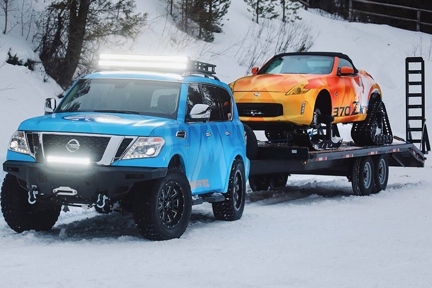 Nissan goes skiing with the 370Zki Roadster