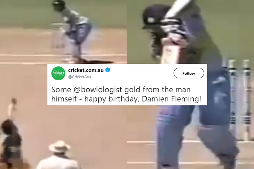 Cricket Australia's Cheeky Birthday Wish For Damien Fleming Has Left Tendulkar Fans Fuming