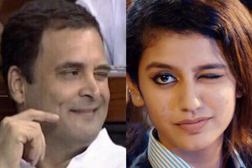 Priya Prakash Varrier, the Original Winker, Has Approved Rahul Gandhi's Wink in Parliament