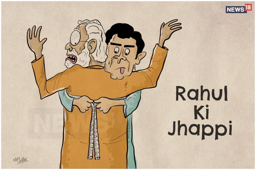 Disrespectful or Stroke of Genius? Here's How Social Media Interpreted Rahul's Hug to Modi