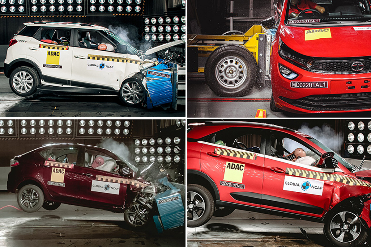 Top 5 Most Affordable Safest Cars To Buy In India Under Rs 10 Lakh Tata Nexon Mahindra Xuv300 And More