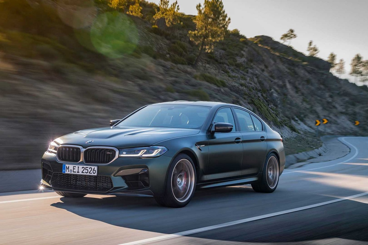 2022 Bmw M5 Cs With 626 Hp Output Launched Know The Details Here Pricing Top Speed And More