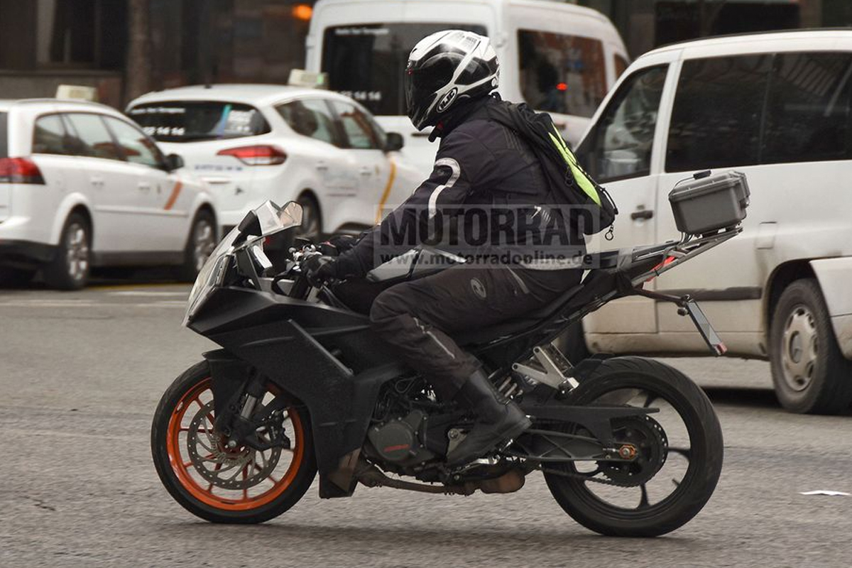 2021 Ktm Rc 390 Spotted Undisguised Ahead Of Launch Here S All You Need To Know