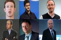 Top 10: Social networking billionaires