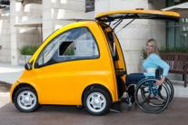 Kenguru: An electric hatchback car designed for wheelchair users