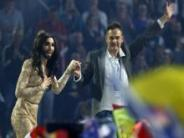 Photos: 'Bearded' Austrian drag queen Conchita Wurst wins Eurovision 2014