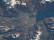 Pyramids, Great Wall of China, India's Lonar Crater Lake: NASA's spectacular images of landmarks on Earth from space