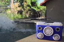 Boombox Cooler: It's both a cooler and a sound system