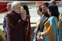 In pics: Modi meets America
