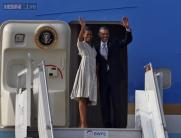 Photos: Style trends of Michelle Obama during her visits to India