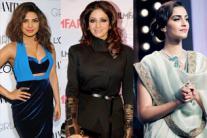 Priyanka Chopra, Sridevi, Sonam Kapoor: Meet this week's best dressed celebrities