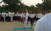 In pics: PM Narendra Modi launches International Yoga Day event at Rajpath