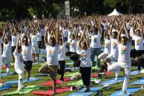 In pics: How world celebrates International Yoga Day