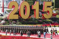 China commemorates the 70th anniversary of the end of World War Two in a Military Parade