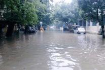 Photos: Heavy downpour brings Chennai to a standstill