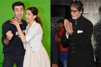 StarGaze: Amitabh Bachchan attends diwali party; Ranbir-Deepika kickstart 'Tamasha' promotions