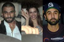 Ranveer Singh attends special screening of 'Tamasha' with Ranbir Kapoor and Deepika Padukone