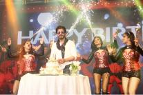 Photos: Shah Rukh Khan dances, blows kisses as he celebrates his 50th birthday with fans
