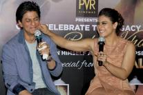 These photos of Shah Rukh Khan-Kajol from 'Dilwale' trailer launch are just so adorable