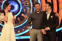 'Bigg Boss 9', day 91: Pulkit Samrat-Divya Khosla kumar promote 'Sanam Re'; Salman Khan rebukes Mandana