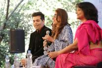 Jaipur Literature Festival 2016, Day 1: Huge turnout at Ruskin Bond and Karan Johar's sessions