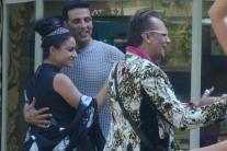 Bigg Boss 9, day 96: Akshay Kumar and Nimrat Kaur promote 'Airlift'; finalist Priya gets evicted from the house
