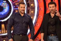 'Bigg Boss 9', day 83: Salman Khan welcomes Sunny Deol on the show, criticises Mandana's growing aggression