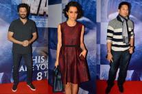 Sachin Tendulkar joins Kangana Ranaut, Anil Kapoor for 'Wazir' screening