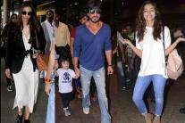 Alia Keeps it Casual, SRK Sports a Dapper Look