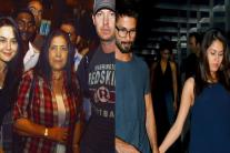 StarGaze: Shahid-Mira Enjoy Dinner Date, Preity-Gene Spend Quality Time With Family