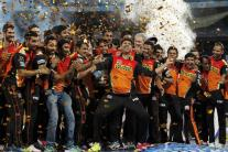 In Pics: Sunrisers Hyderabad Clinch Their Maiden IPL Title