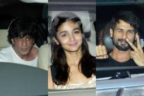SRK to Alia: B-Town Celebrities Attend Karan Johar's Party