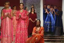 India Couture Week, Day 2: Bhumi Pednekar Turns Showstopper For Anita Dongre