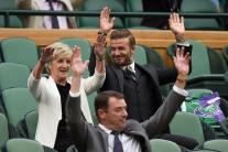 Celebrities in Attendance at Wimbledon 2016