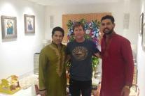 Ganesh Chaturthi 2016: Sachin Tendulkar, Yuvraj Singh Welcome Ganpati
