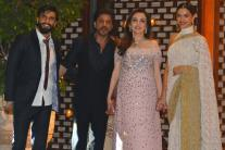Shah Rukh Khan, Alia Bhatt, Deepika Padukone: Bollywood Stars Arrive In Style At Ambani Residence