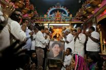 Jayalalithaa's Body Kept at Rajaji Hall in Chennai, Huge Crowds Pay Last Respect