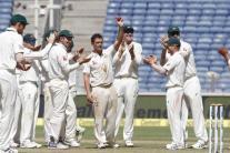 In Pics: India vs Australia, 1st Test, Day 3 in Pune